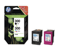 300 Combopack black/color zu HP CN637EE